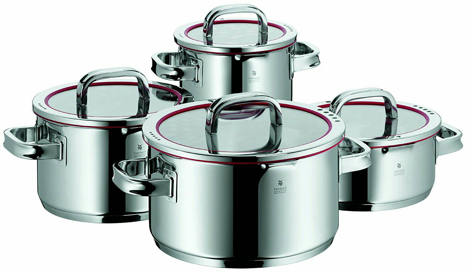 WMF Function 4 8 Piece Casserole Cookware WMF頂級Function 4 鍋具8件組