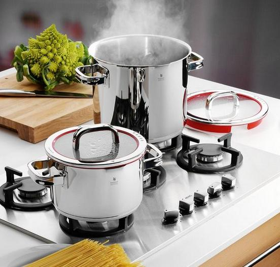 WMF Function 4 8 Piece Casserole Cookware Set(WMF頂級Function 4 鍋具8件組)