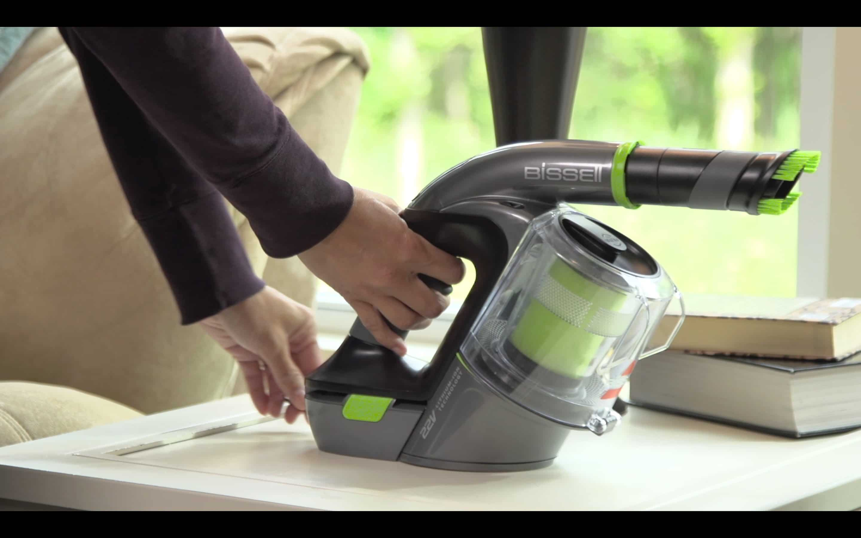 BISSELL Lightweight Cordless Hand Vacuum and Car Vacuum 俗稱小綠(小綠吸塵器)