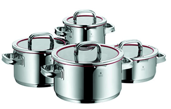 WMF Function 4 8 Piece Casserole Cookware Set(WMF頂級Function 4 鍋具8件組)史低價來襲!!(發表台灣時間2019/8/2 3:00 AM)